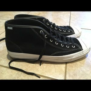 Cons Jack Purcell mid top skate shoes